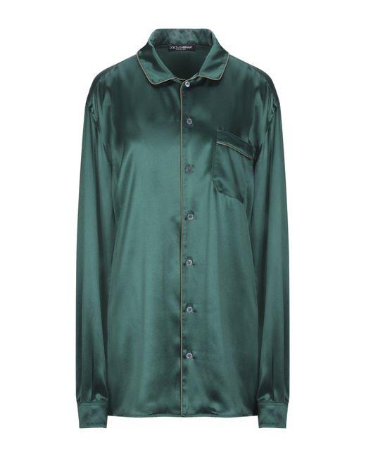 Camicia di Dolce & Gabbana in Green