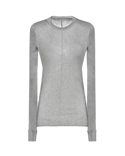 Fine Collection - Gray T-shirt - Lyst