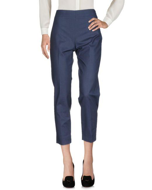 Seductive - Blue Casual Trouser - Lyst