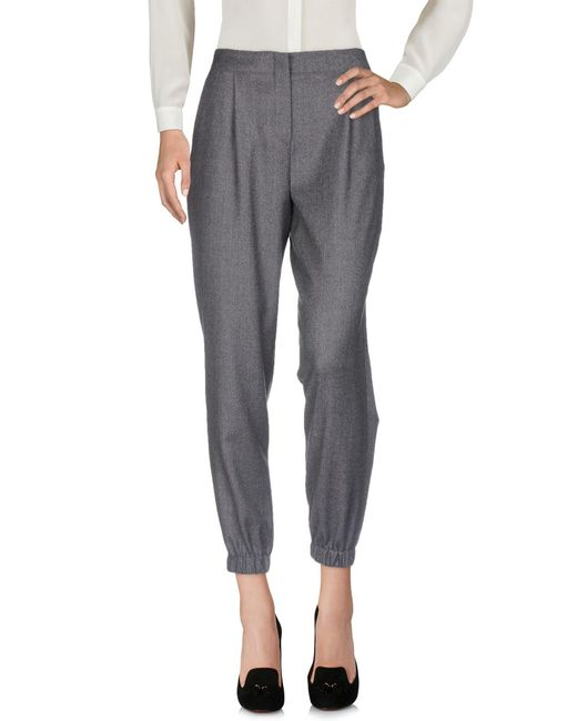 PS by Paul Smith - Gray Casual Pants - Lyst