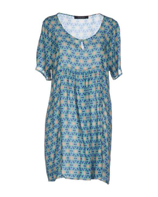 Fisico - Green Short Dresses - Lyst