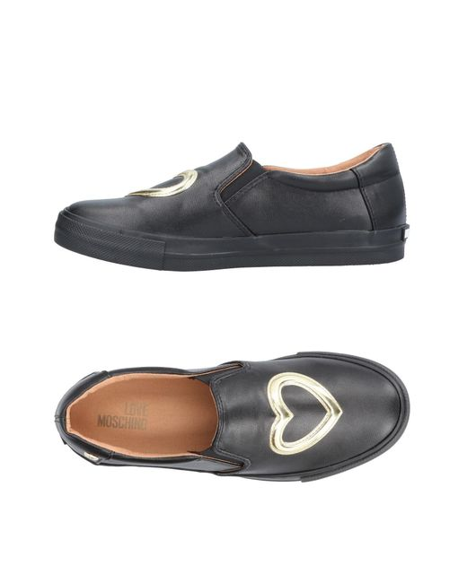 Love Moschino - Black Low-tops & Sneakers - Lyst