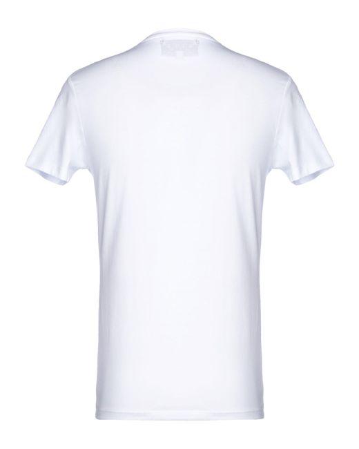 T-shirt di John Richmond in White da Uomo