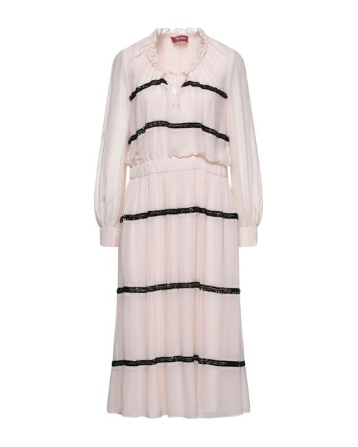 Max Mara Pink Knee-length Dress