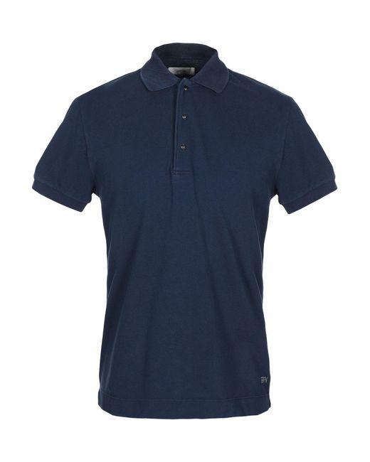 Mauro Grifoni Poloshirt in Blue für Herren