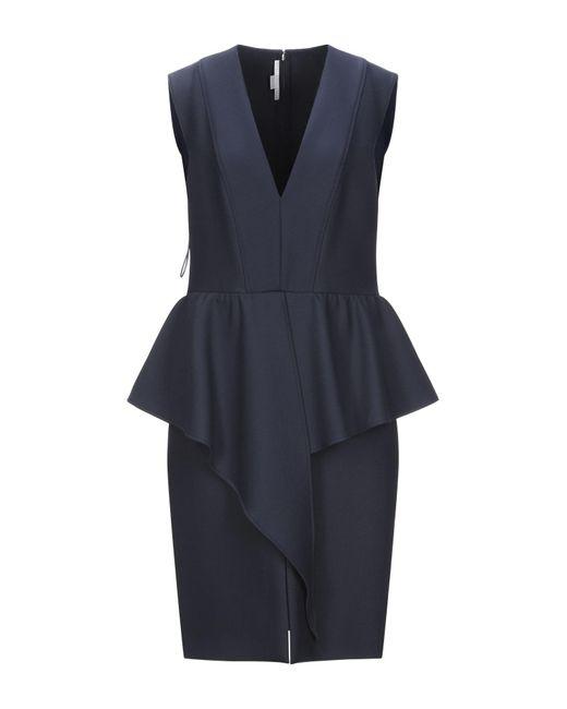Vestido por la rodilla Stella McCartney de color Blue