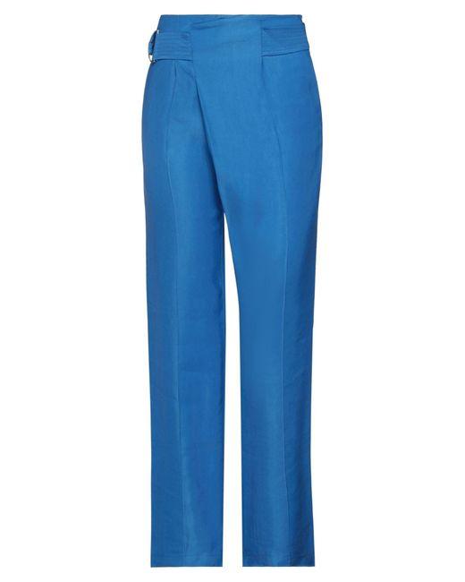Twenty Easy By Kaos Blue Casual Trouser