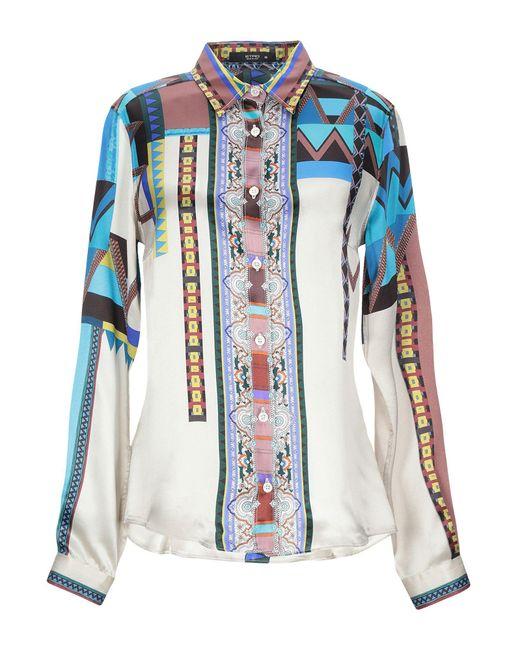 Etro Camicia da donna di colore grigio