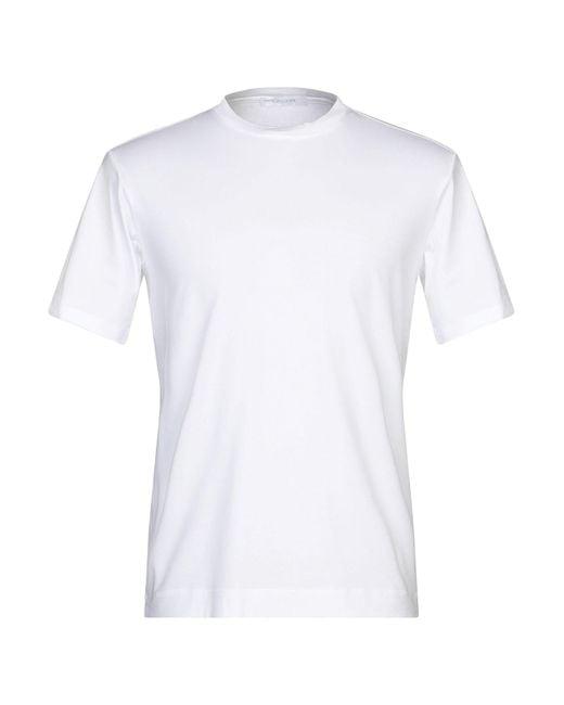 Cruciani T-shirt da uomo di colore bianco