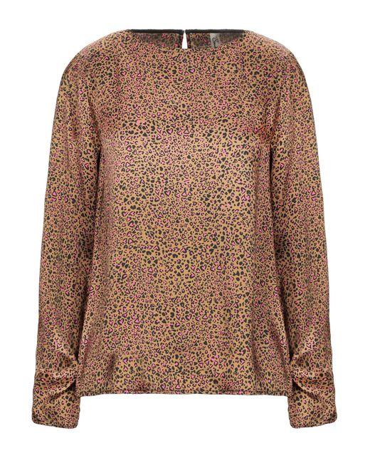 Souvenir Clubbing Blusa da donna di colore marrone