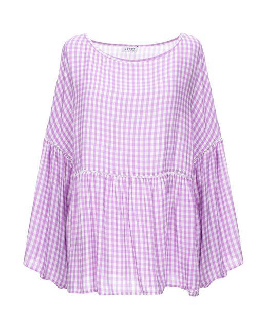 Blouse Liu Jo en coloris Purple