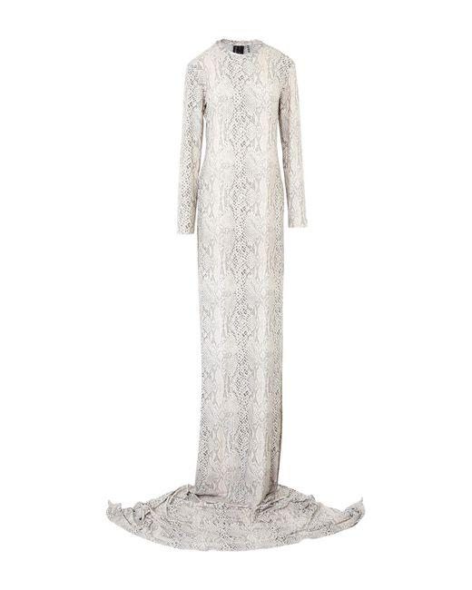 Kamalikulture - White Knee-length Dress - Lyst