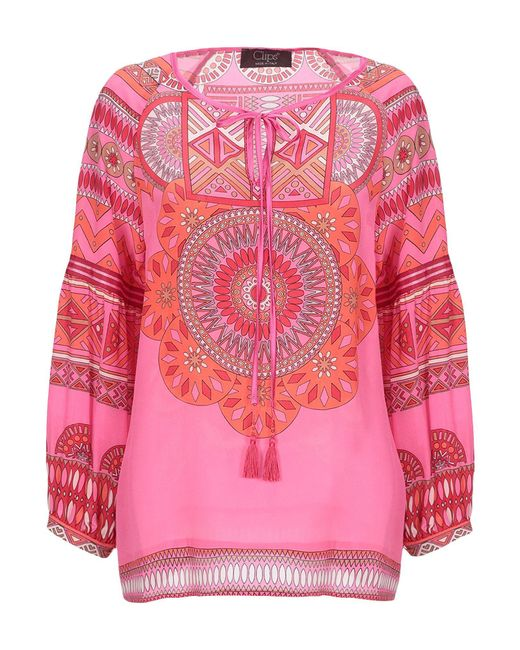 Clips Pink Blouse