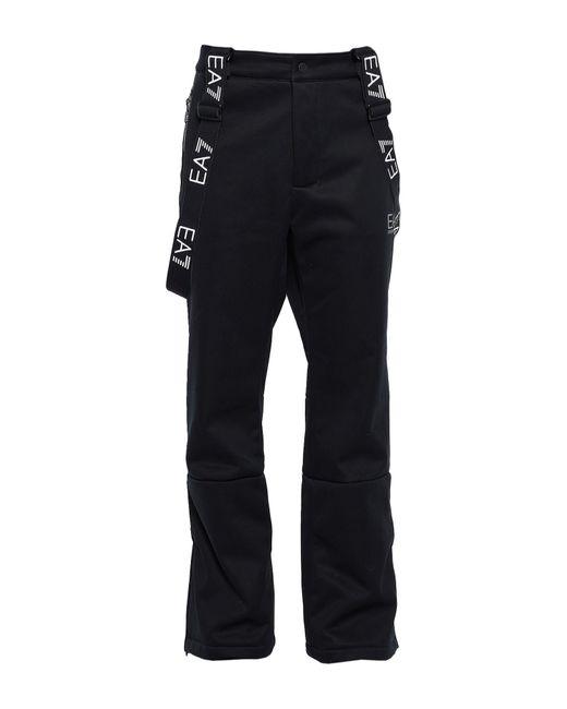 Pantalon EA7 pour homme en coloris Black