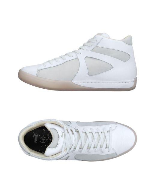 Alexander McQueen X Puma   White High-tops & Sneakers for Men   Lyst