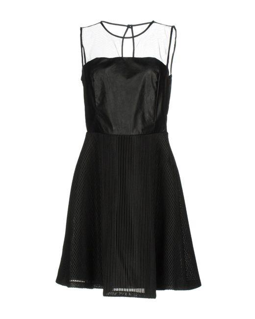 Liu Jo Black Short Dress