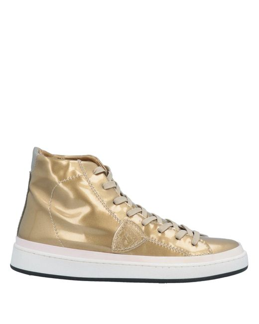 Sneakers & Tennis montantes Philippe Model en coloris Metallic