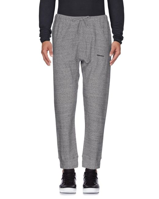 DSquared² - Gray Casual Trouser for Men - Lyst