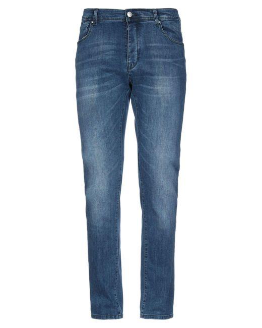 AT.P.CO Blue Denim Pants for men