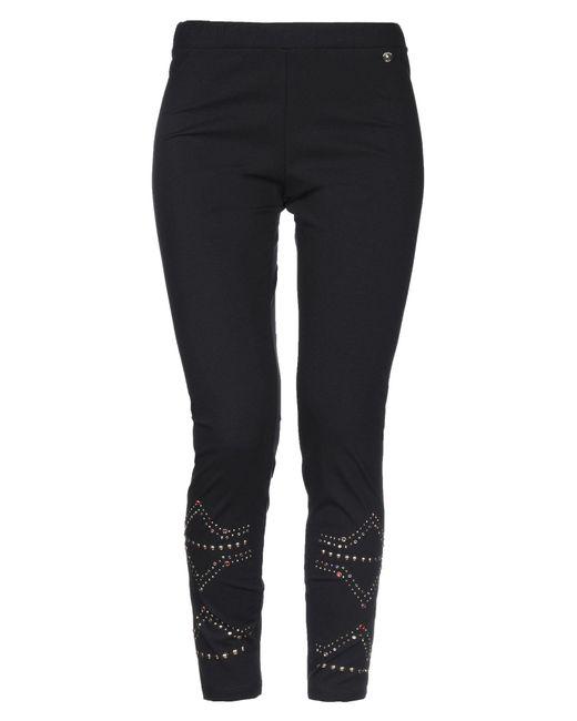 Versace Jeans Mallas de mujer de color negro