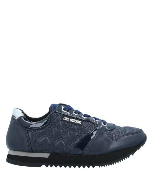 Love Moschino Sneakers & Deportivas de mujer de color azul