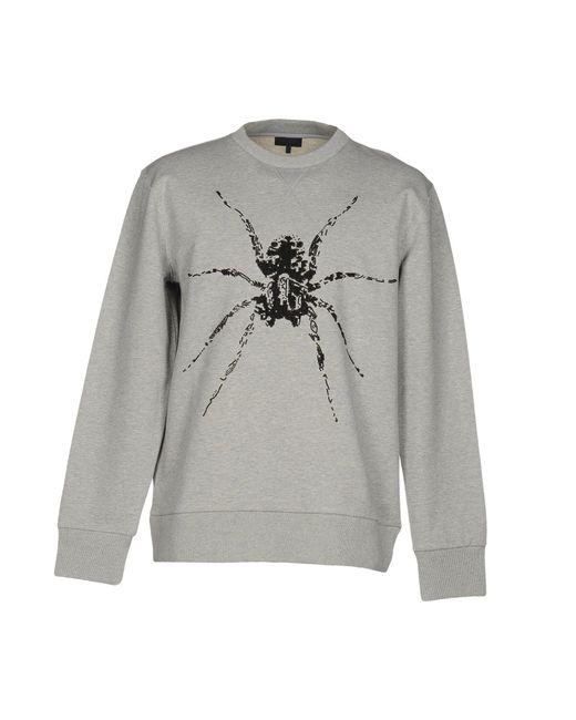 Lanvin Gray Sweatshirt for men