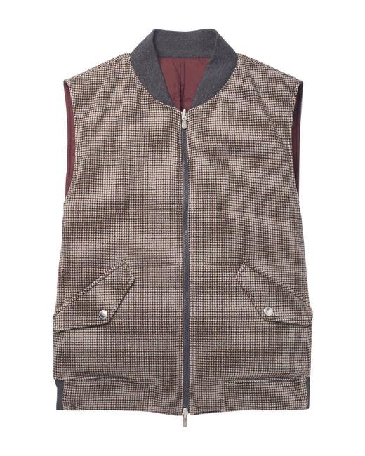 Doudoune Brunello Cucinelli pour homme en coloris Gray