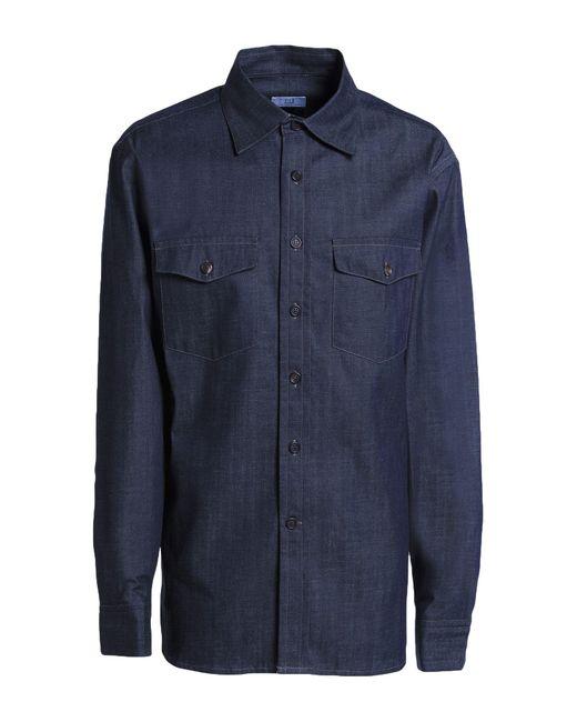 Camicia jeans di Dunhill in Blue da Uomo