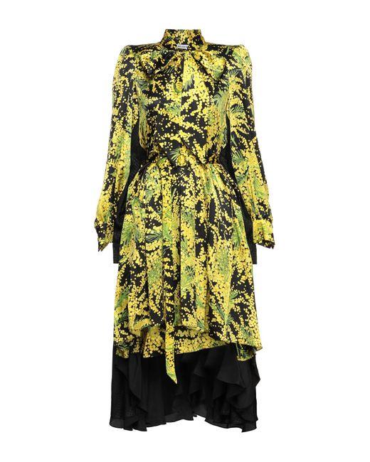 Vestido por la rodilla Balenciaga de color Yellow