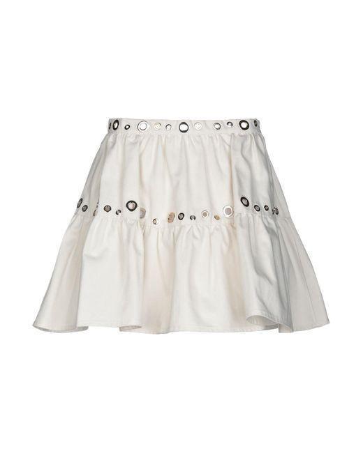 KENZO White Denim Skirt