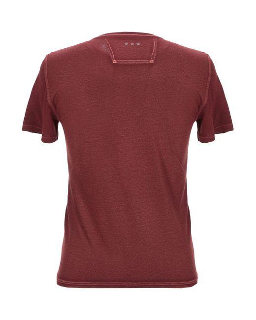 Camiseta John Varvatos de hombre de color Red