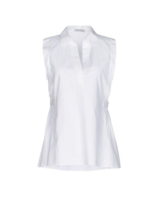 T By Alexander Wang White Top