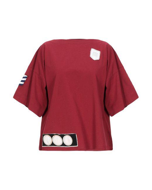 Marni T-shirt da donna di colore rosso