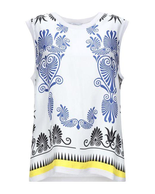 Versace Pullover de mujer de color blanco yCtWI