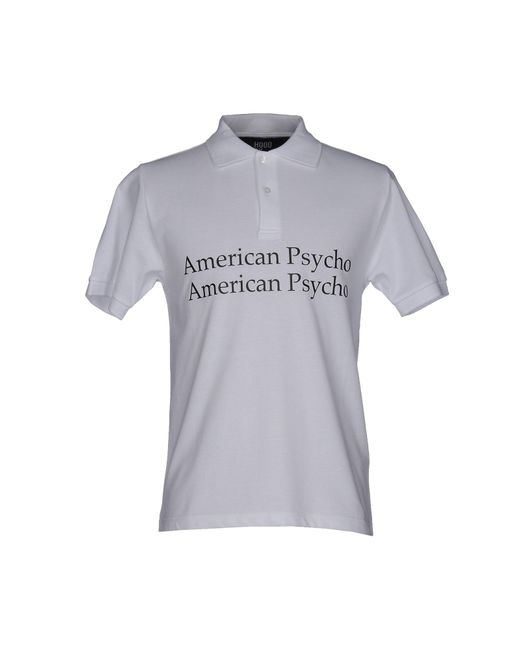 Hood By Air - White Polo Shirt for Men - Lyst