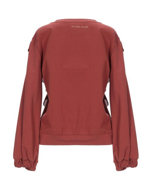 Sweat-shirt Blugirl Blumarine en coloris Brown