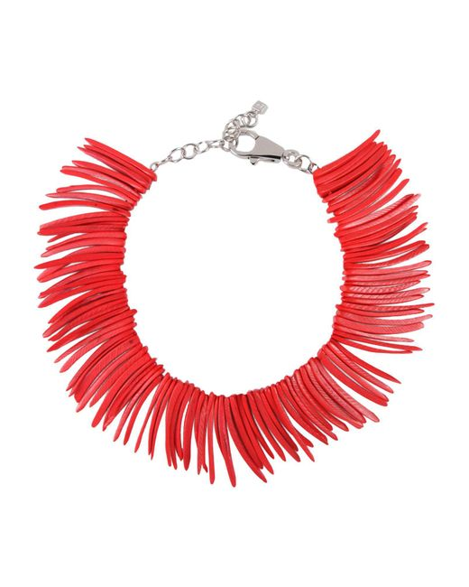 DSquared² | Red Necklace | Lyst