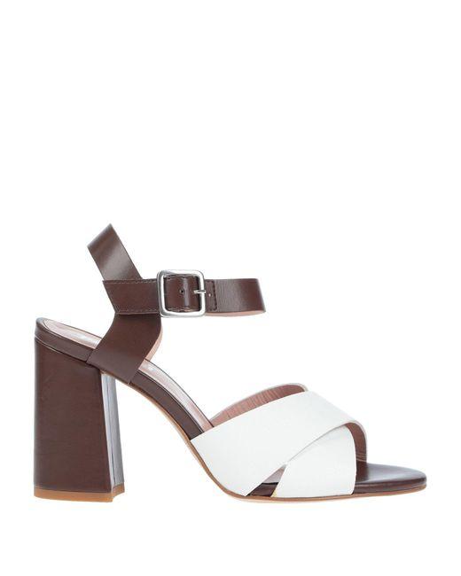 Pollini White Sandals