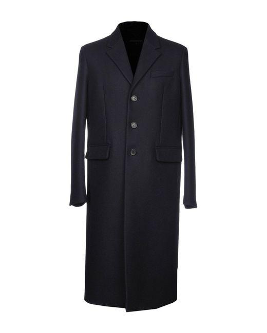 DSquared² - Blue Coat for Men - Lyst