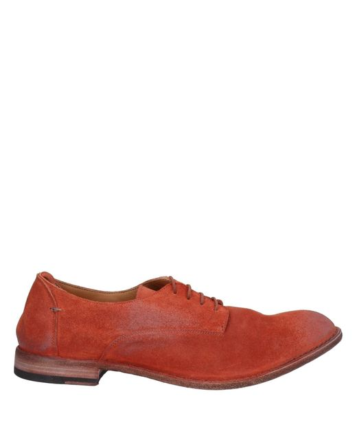 Pantanetti Red Lace-up Shoe for men