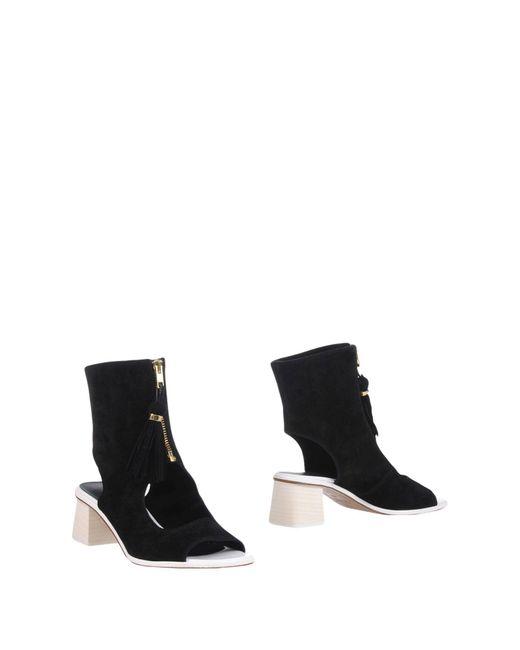 L'Autre Chose - Black Sandals - Lyst