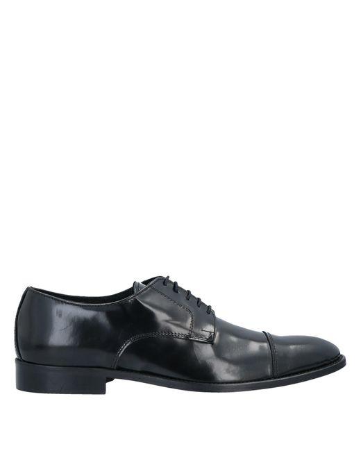 Grey Daniele Alessandrini Mokassin in Black für Herren