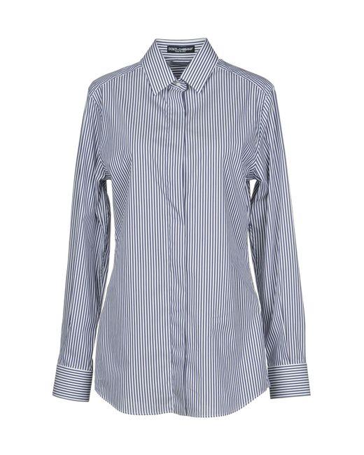 Dolce & Gabbana Camicia da donna di colore blu