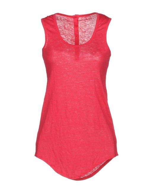 Fine Collection - Pink Vest - Lyst