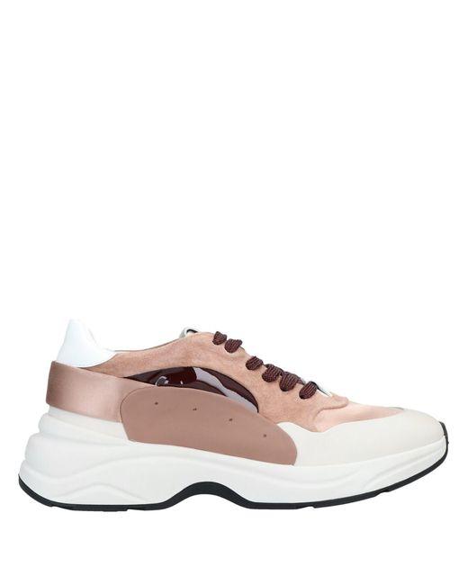Santoni Brown Low-tops & Sneakers for men