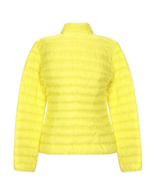 Peuterey Yellow Synthetic Down Jacket