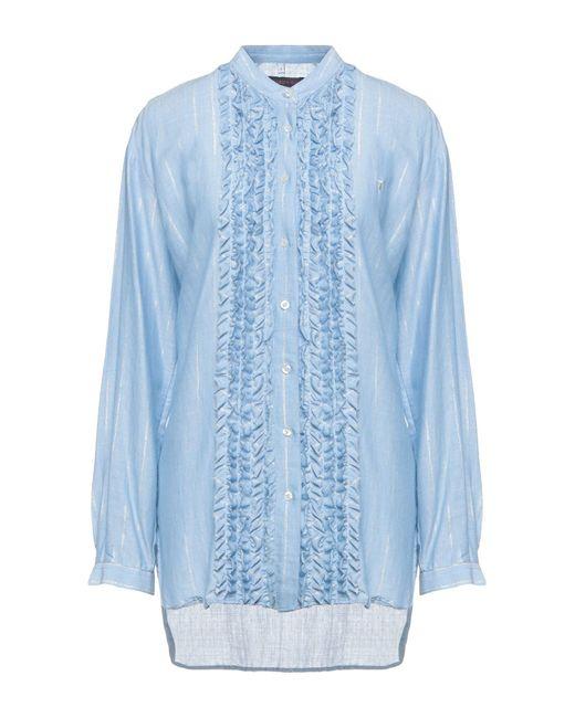 Trussardi Blue Shirt
