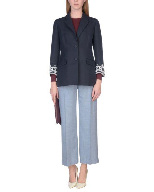 Dior Blue Suit Jacket