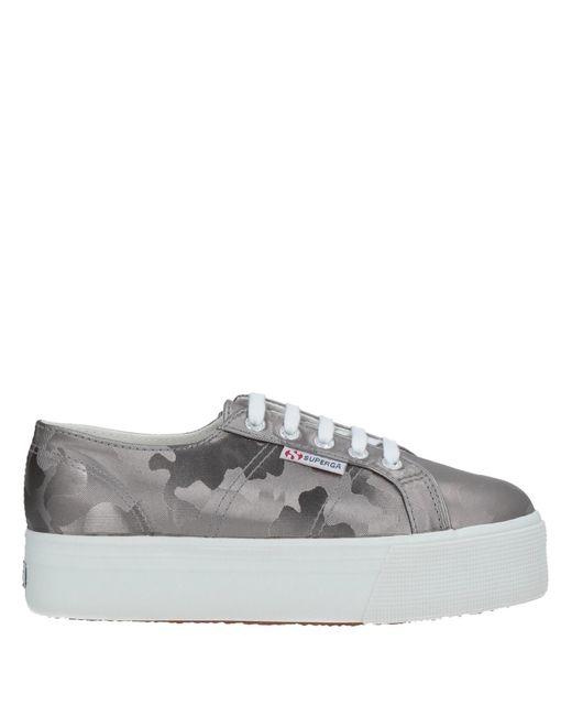 Superga Gray Low-tops & Sneakers