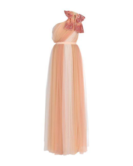 Vestido largo Elisabetta Franchi de color Multicolor
